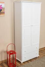 schlafzimmer schrank kiefer massiv weiß 195x84x42 cm