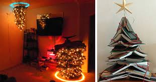Christmas Tree Books Diy by 15 Of The Most Creative Diy Christmas Trees Ever Bored Panda