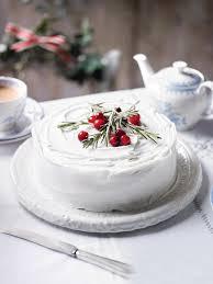 Simple Christmas Cake Decoration Beautiful