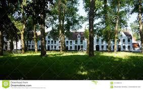 100 Dorr House Beguinage Bruges Belgium Stock Photo Image Of Dorr