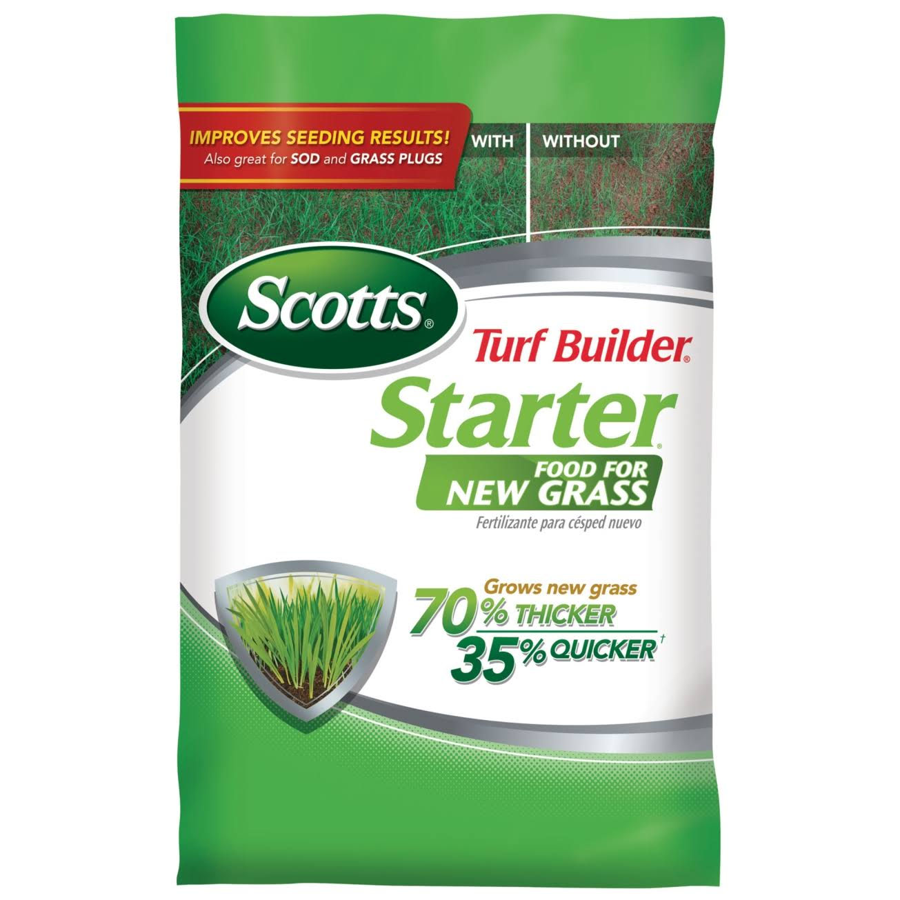Scotts Turf Builder New Grass Food Starter Fertilizer - 15lb