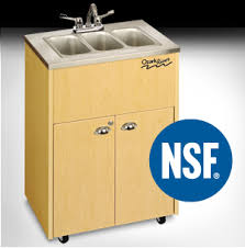 Mobile Self Contained Portable Electric Sink by Nsf Certified Portable Stainless Steel Sinks All Safety Products