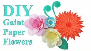 DIY Paper Flowers Room Decor Decoration Wall Decors Party Wedding Decorations