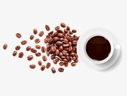 Freshly Ground Coffee Beans Cup Drink PNG Image And Clipart