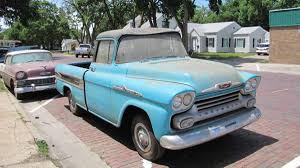 Lambrecht Chevrolet Auction: Top Five Sales From Day 1 | Autoweek 58 59 Chevy Apache Fleetside Description Chevrolet Old Parked Cars 1958 Suburban Panel Truck Edit I Think Pickup Youtube Gmc Big Window Custom Short Bed For Sale Used 31 Cameo Carrier V8 Autopspbac Venice Fl 3100 Pick Up 57 American For Sale Craigslist Bgcmassorg Near Burke South Dakota 57523 Pickups To Steal The Show Lowvelder Suburban And Automotive News Lambrecht Prerves History Of Auction 2065258 Hemmings Motor News