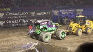 Monster Jam Providence, RI 2018 Saturday Afternoon: 2 Wheel Skills ...