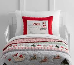 north pole toddler quilt pottery barn kids