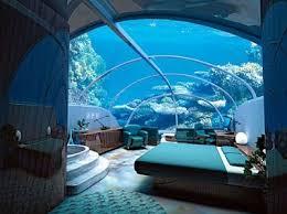 Bed Bedroom Blue Decor Ocean Pretty