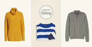 Caring For Clothing Sweaters