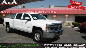 Sold 2015 Chevrolet Silverado 2500HD Built After Aug 14 LT In Fontana
