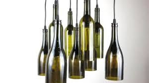 Kitchen Lime Green Wine Bottle Pendant Light With Making A Contemporary 18 Prepare
