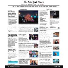 NYT Breaking News The New York Times Created A GIF
