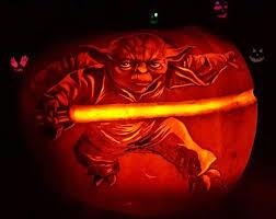 Yoda Pumpkin Stencil by 19 Best Yoda Pumpkin Carving Images On Pinterest Halloween