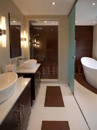 Long Narrow Bathroom Ideas by Bathroom Contemporary Bathroom Design Ideas Gray Marbled Floor