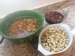 Soaking Pumpkin Seeds In Water by Soaking Nuts And Grains Spiced Nut Bars Gluten Free The