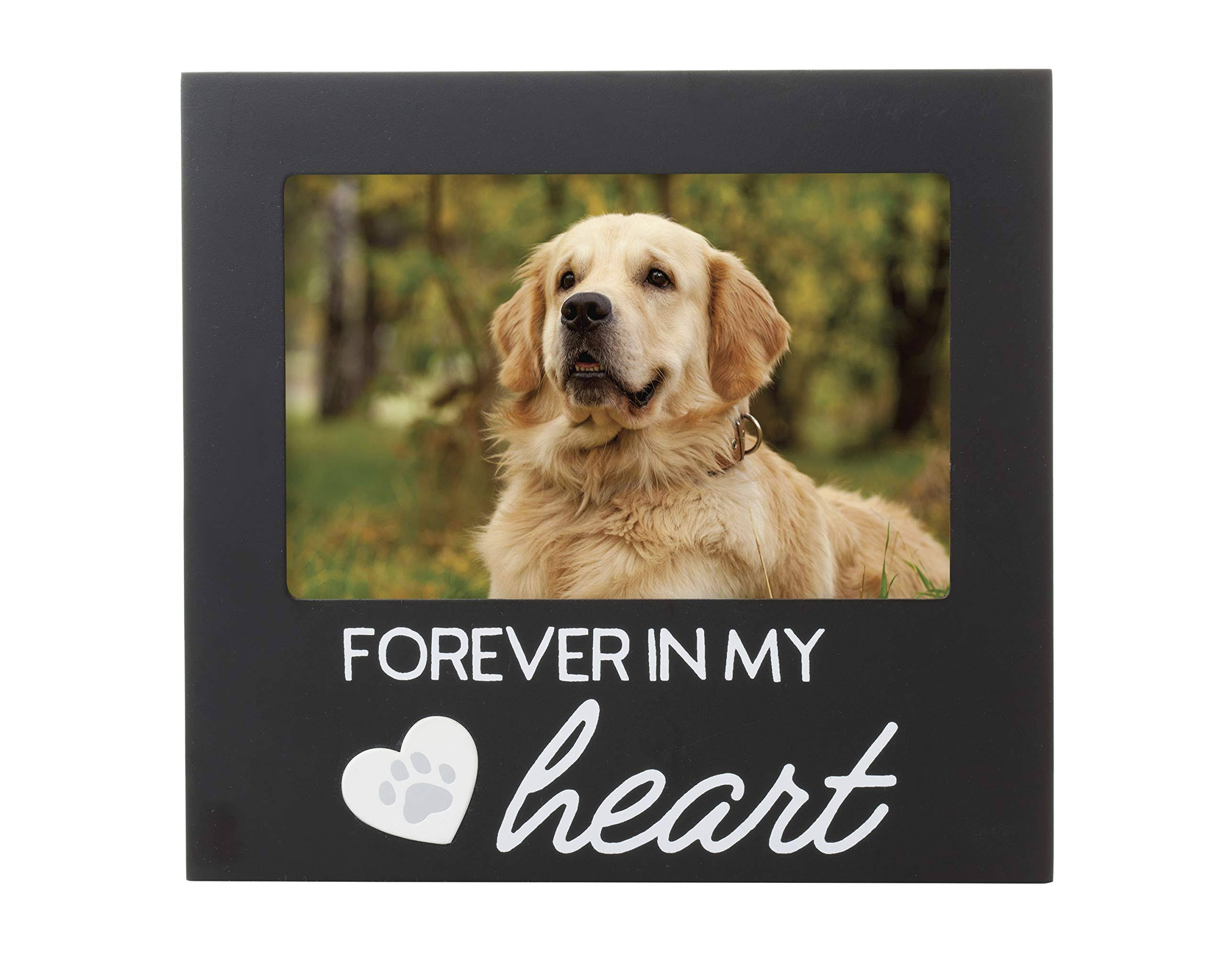 Pearhead Black 'Forever in My Heart' Pet Memorial Frame One-Size