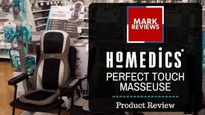 Kohls Homedics Massage Chair by Review Homedics Perfect Touch Masseuse Massage Chair Youtube