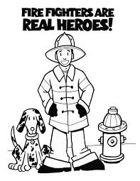 Friendzies Fire Prevention Coloring Book