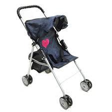 My First Doll Stroller Denim For Baby Doll BABTOY