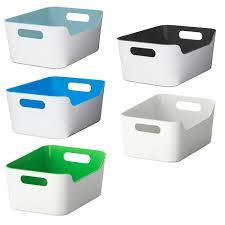 ikea variera box mit grifföffnungen aufbewahrung küchenbox