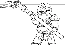 Attractive Lego Ninjago Coloring Pages Cole Zx