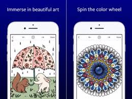 How To Use Lake Virtual Coloring Book Apple Design Award Winner