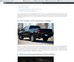 My Truck/photos Are Popular – Toyota Tundra How To Import A Car From Canada The Us With Relative Ease Selling My Truck In Excellent Cdition Very Reliable Sheerness 2019 Ford Ranger First Look Kelley Blue Book Flint Hills Auto Is Hyundai Mazda Dealer Selling New And Sell My Boat Challenge Marine Car Trading In Questions Isnt Listed Cargurus Our Friends Over At Lost_tacoma Are Their Well Built Tacoma Junk For Cash Archives Cash For Junk Cars Update Truck Youtube Your Trucks Procedures Sydney Removals Now Mint 98 Sierra Album On Imgur Meet Woman Charge Of Building Bestselling Pickup