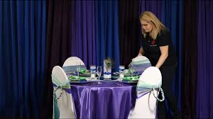 Tablescape Tutorial - Peacock Themed Wedding - YouTube How To Tie A Universal Satin Self Tie Chair Cover Video Dailymotion Cv Linens Whosale Wedding Youtube Ivory Ruched Spandex Covers 2014 Events In 2019 Chair Covers Sashes Noretas Decor Inc Universal Satin Self Tie Cover At Linen Tablecloth Economy Polyester Banquet Black Table Lamour White Key Weddings Ruched Spandex Bbj Simple Knot Using And 82 Awesome Whosale New York Spaces Magazine