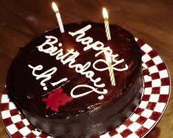 Cake · Happy Birthday Chocolate