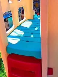 Step2 Playhouses Slides U0026 Climbers by Step2 Playhouse Climber With Slide U0026 Swingset Extension U0026 Big