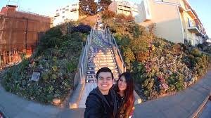 16th avenue tiled steps address the selfie with the tiles lol yelp