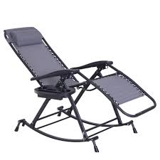 Outsunny Garden Rocking Chair Folding Recliner Outdoor Adjustable Sun  Lounger Rocker Zero-Gravity Seat With Headrest Side Holder Patio Deck - Grey Kawachi Foldable Zero Gravity Rocking Patio Chair With Sunshade Canopy Outsunny Folding Lounge Cup Holder Tray Grey Varier Balans Recliner Best Choice Products Outdoor Mesh Attachable And Headrest Gray Part Elastic Bungee Rope Cords Laces For Replacement Costway Rocker Porch Red 2 Packzero Pieinz Gadgets In Power Recliners Vs Manual Reclinersla Hot Item Luxury Airbag Replace Massage Garden Adjustable Sun Lounger Zerogravity Seat Side Deck W Orange Marvellous Lane Fniture For Real