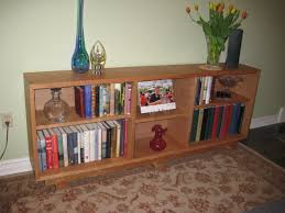 Inspirations Cool Horizontal Bookcase For Storing Books And