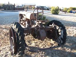 Rose Valley RV Ranch Casitas An Old Tractor