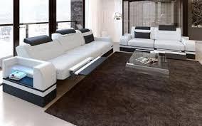 moderne sofagarnituren in leder und auch stoff design