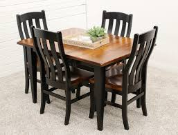 100 Cherry Table And 4 Chairs Easton Settlers With Fostoria Dutch Craft Furniture