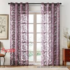 wohnzimmer schlafzimmer vorhang lila 200 x 280