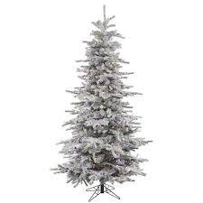 Pre Lit Pencil Christmas Tree Walmart by Best 25 Walmart Flocked Christmas Trees Ideas On Pinterest
