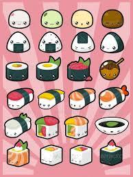 Kawaii Pack 3 Japanese Food By PzUH