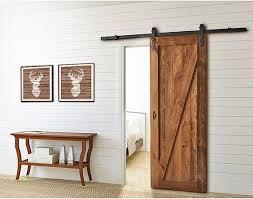 porte chambre bois la porte de grange en 37 idées déco