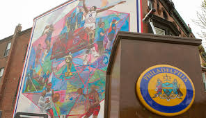 Big Ang Mural Unveiling by New Sixers Mural Unveiled At Broad And Federal Philadelphia Magazine