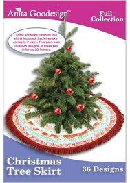 Anita Goodesign Christmas Tree Skirt