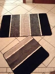 bad garnitur wc vorleger badezimmer teppich in 53881
