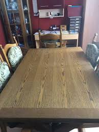 esszimmergruppe eiche tisch 6 stühle
