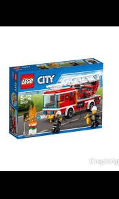 100 Lego Fire Truck Games Toytoy Ladder 60107 Toys Bricks