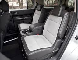 Luxury Suv With Second Row Captain Chairs by 2012 Ford Flex Our Review Cars Com