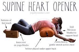 Pin It Heart Opening Yin Pose Wearing LVR Fashion Leggings C O