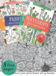 4 Portable Coloring Books Get A Free 5 Page Download