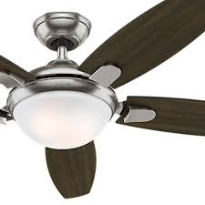 Brushed Nickel Ceiling Fan Amazon by Hunter Fan 54