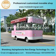 China Customized Movable Ice Cream Food Truck /Movable Food Trailer ...